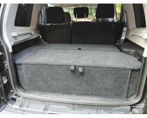 Органайзер в багажник MITSUBISHI Pajero 4 (европейская сборка) Стандарт+