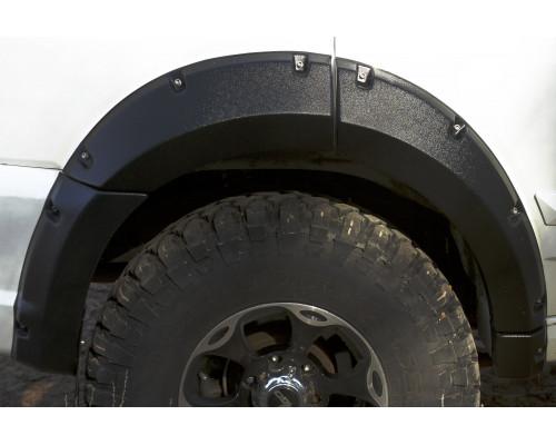 Расширители колёсных арок (фендеры) GREAT WALL Hover H3 2010-2013 (вынос 50 мм) - комплект 4шт