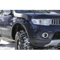 Расширители колёсных арок (фендеры) MITSUBISHI Pajero Sport 2008-2013 (вынос 60 мм) - комплект 4шт