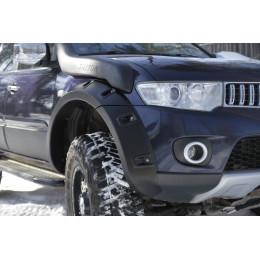 Расширители колёсных арок (фендеры) MITSUBISHI Pajero Sport 2008-2013 (вынос 60 мм)