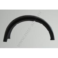 Расширители колёсных арок (фендеры) MITSUBISHI L200 2010-2013 (вынос 90 мм) - комплект 4шт