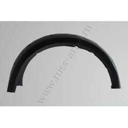 Расширители колёсных арок (фендеры) MITSUBISHI L200 2007-2015 (вынос 90 мм)