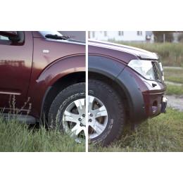Расширители колёсных арок (фендеры) NISSAN Pathfinder 2004-2013 (вынос 40 мм)