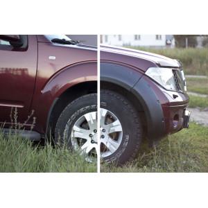 Расширители колёсных арок (фендеры) NISSAN Pathfinder 2004-2013 (вынос 40 мм) - комплект 4шт