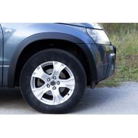 Расширители колёсных арок (фендеры) SUZUKI Grand Vitara 2005-2012 (вынос 25 мм) - комплект 4шт