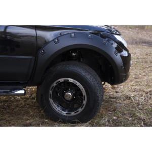 Расширители колёсных арок (фендеры) MITSUBISHI L200 2015-2018 (вынос 60 мм) - комплект 4шт