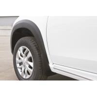 Расширители колёсных арок (фендеры) NISSAN Terrano 2014+ (комплект 4шт)