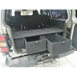 Органайзер в багажник MITSUBISHI Pajero 2 (5-дверный) Экспедиция