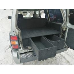 Органайзер в багажник MITSUBISHI Pajero 2 (5-дверный) Лесник